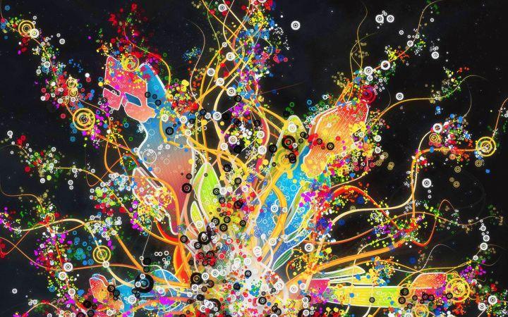 Color Splash Wallpaper Database
