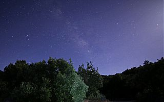Nachthimmel über La Palma / Kanaren